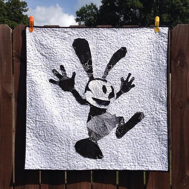 Oswald the Lucky Rabbit - FMQ - Own Paper Piece design