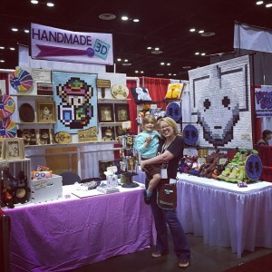 Handmade3D_MegaCon_booth
